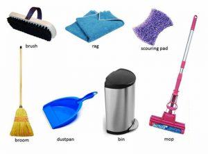 لوازم پلاستیکی با مصارف نظافتی مستقیم