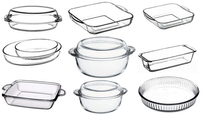 انواع ظروف پیرکس