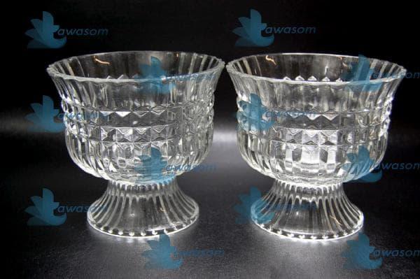 استفاده از ظروف کریستال در دیزاین داخلی