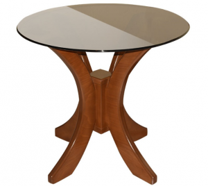 میز پلاستیکی پایه هلالی