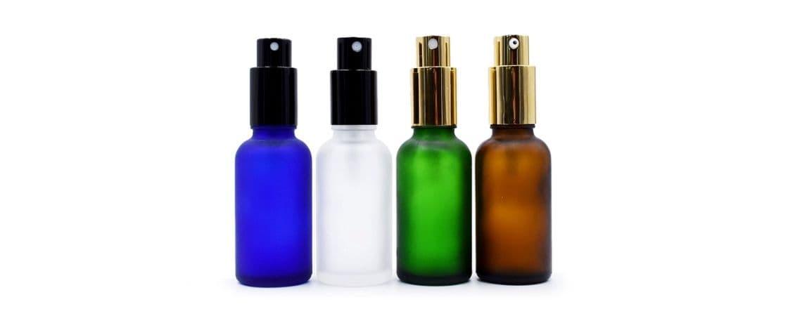 جنس و ابعاد مختلف بطریهای اسپری دار