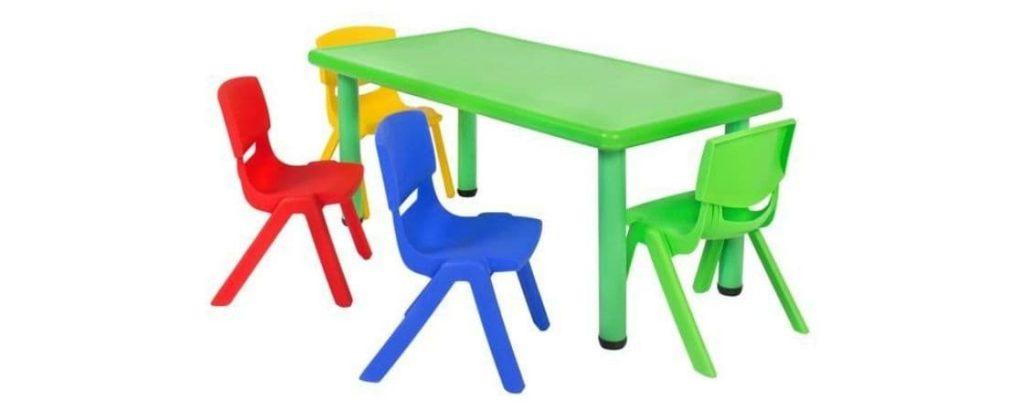 موارد مهم در انتخاب و خرید میز و صندلی پلاستیکی