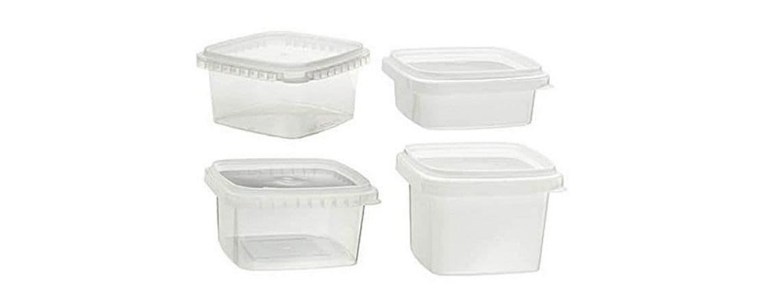 ظروف پلاستیکی شفاف